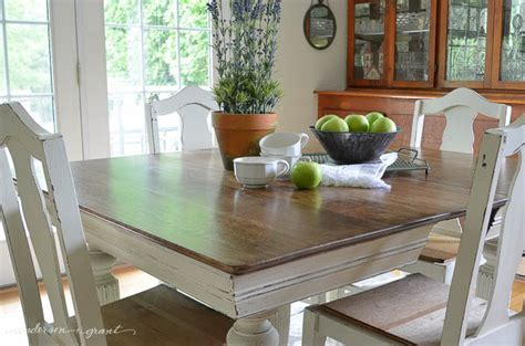 how to paint a dining room table without sanding antique dining table chairs grant