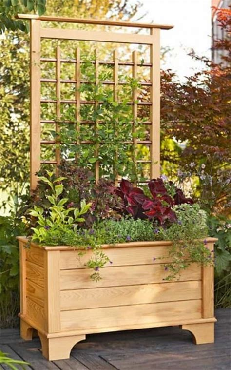Planter Screen by Trellis Planter Box