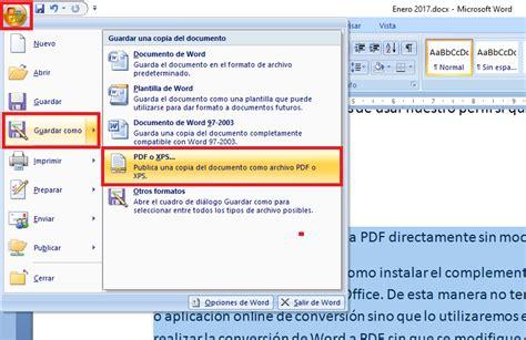 convertir imagenes pdf a texto word como convertir archivos word a pdf directamente sin