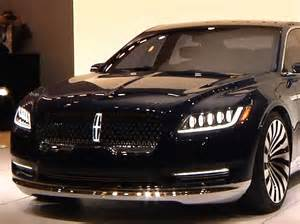 new lincoln concept car here s the new lincoln continental concept car unveiled at