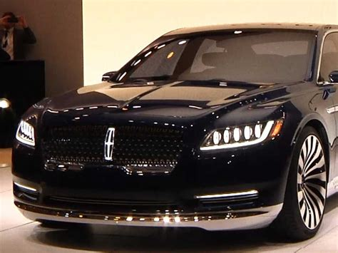 lincoln new cars here s the new lincoln continental concept car unveiled at