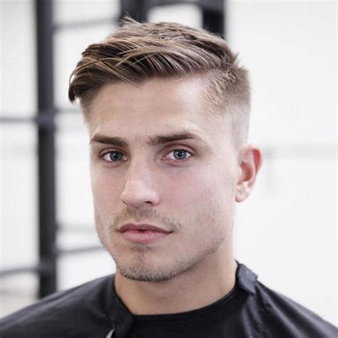 the most suitable hairstyles for boys with short and oval faces cute hairstyles for guys