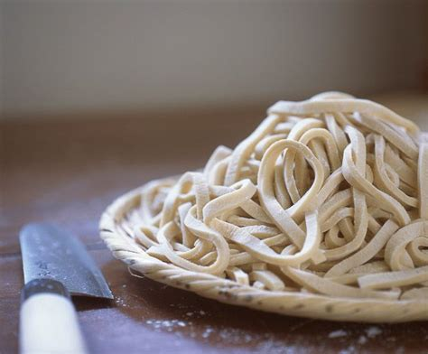 How To Make Handmade Noodles - handmade udon noodles recipe dishmaps