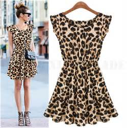 Jaguar Print Dress New Sale Casual Dress Leopard Print