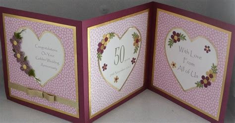 wedding anniversary quilling cards paper cards paper quilling golden wedding card