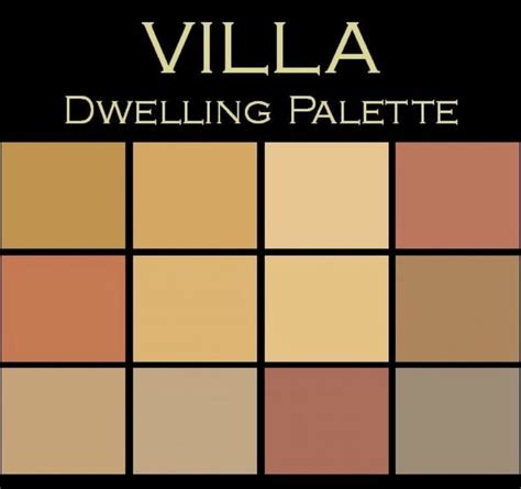 color in space villa palette rich earthy mediterranean paint by color in space inc