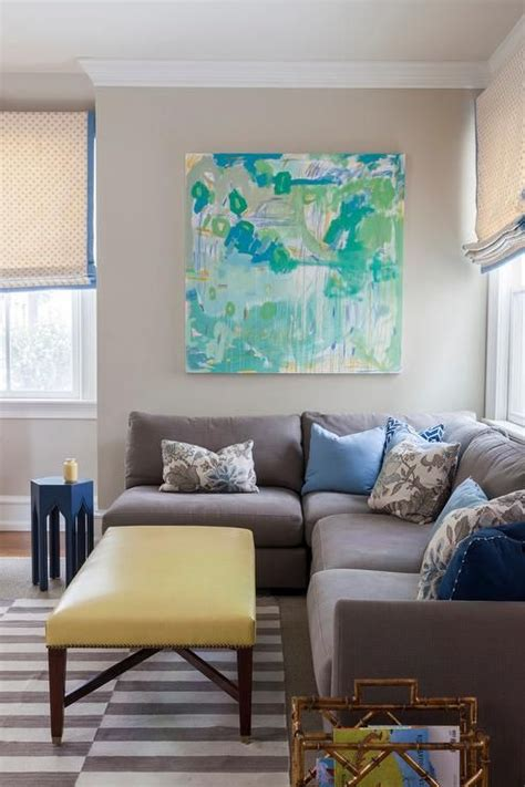 Yellow Rugs For Living Room by Grey Armless Sectional Living Rooms
