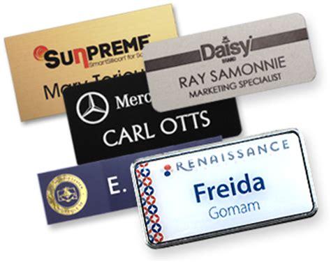 Name Tag Design Company | name tag inc name tags name badges name plates and more