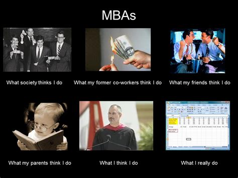 Mba Jokes One Liners by What My Friends Think I Do What I Actually Do Mbas