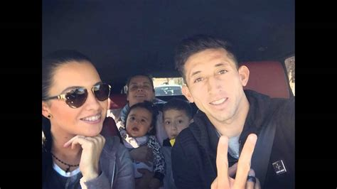 hector herrera and his and children