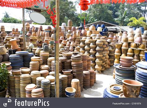 Landscape Pots For Sale Garden Pots For Sale Stock Image I2161974 At Featurepics