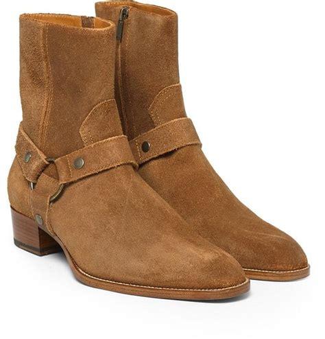 mens tan biker boots wholesale dusty cinnamon tan suede biker boots suede