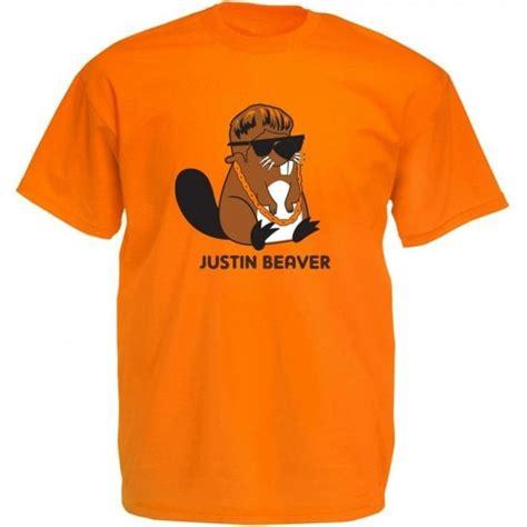 justin beaver  shirt  animals yeah yeah uk