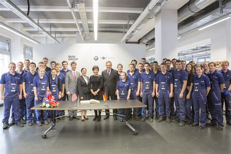 bmw factory secretary pritzker tours bmw factory and training