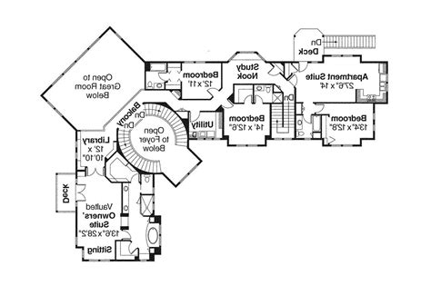 lodge floor plans lodge style house plans bentonville 30 275 associated