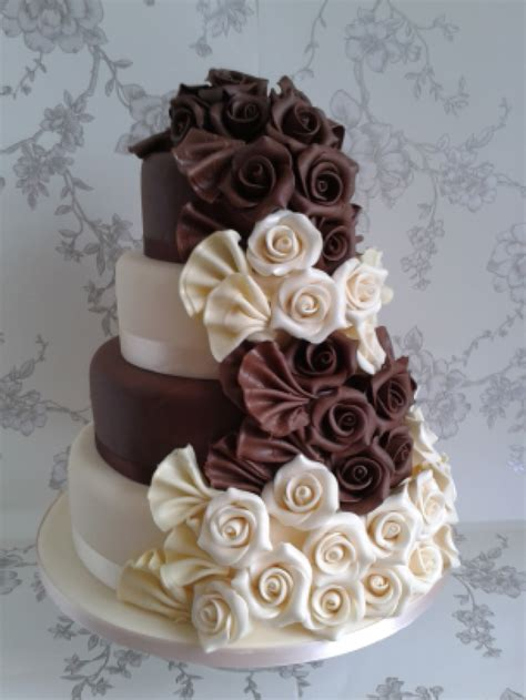 chocolate wedding cakes weneedfun