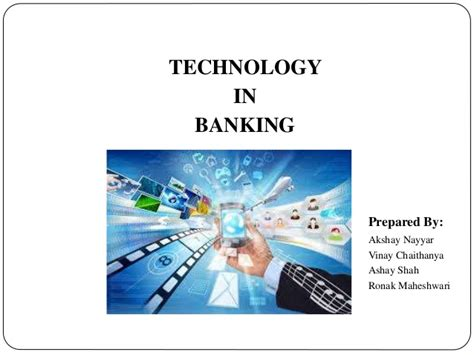 Mba Banking Technology Scope by Banking Technology