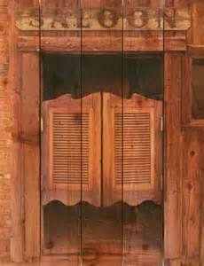 28x36 saloon door on cedar inside outside wall hanging