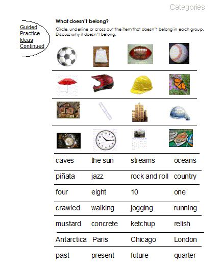 Aphasia Worksheets by Word Finding Aphasia Printables Myideasbedroom