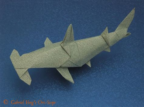 Origami Hammerhead Shark - origami hammerhead shark by fernando gilgado tutorial