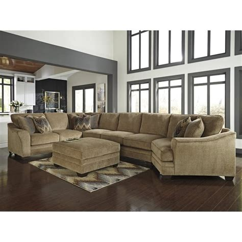 ashley lonsdale 2 piece right cuddler sofa sectional set