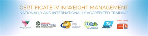 weight management courses certificate iv in weight management acwm