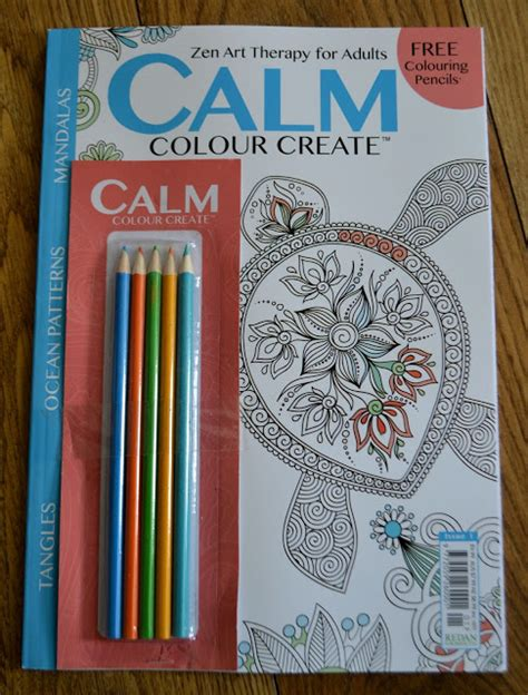 Create Giveaway - calm colour create magazine review giveaway rock and roll pussycat
