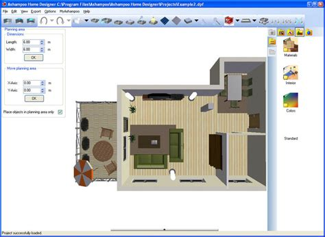 home design software free ashoo home designer