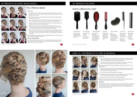 Hair Style Book Pdf by Hairstyle Book Pdf 30 Braids In 30 Days The Ebook Hair
