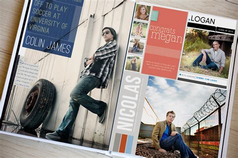 yearbook layout templates photoshop our covergirl or guy yearbook ads are a ppa hot one