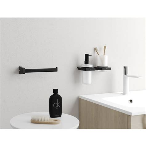 black bathroom accessories shop the trend black bathroom accessories drench the