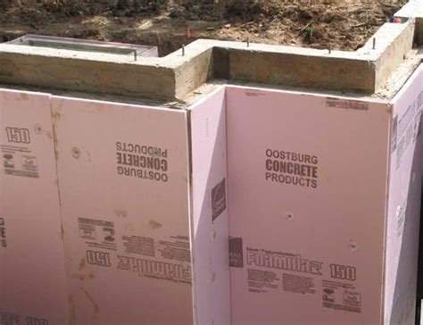 exterior basement wall insulation home building process new homes renovation additions