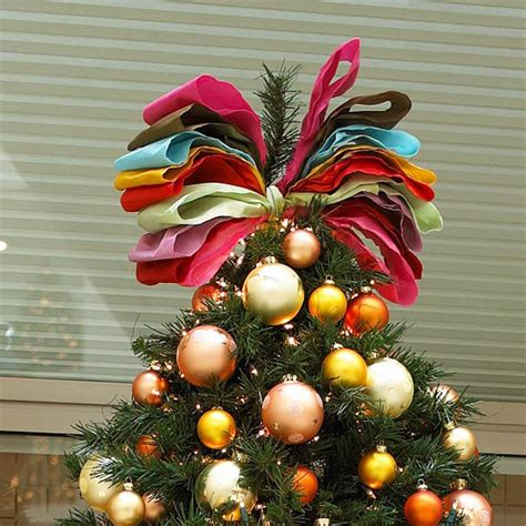 how to make an easy tree topper diy easy tree toppers 15 festive ideas for you