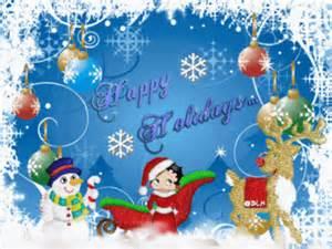 betty boop happy holidays christmas myniceprofilecom