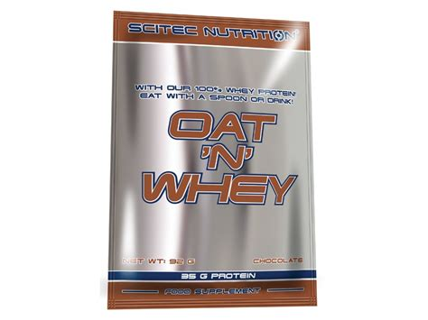 whey protein n creatine oat n whey scitec nutrition 174