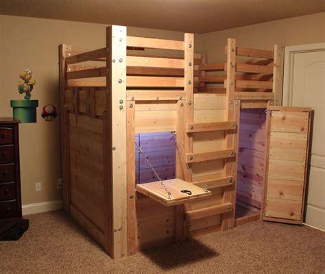 Childrens Bunk Bed Plans Loft Bed Plans The Bed Fort Bed Forts Pinterest Loft Mobile Pinterest
