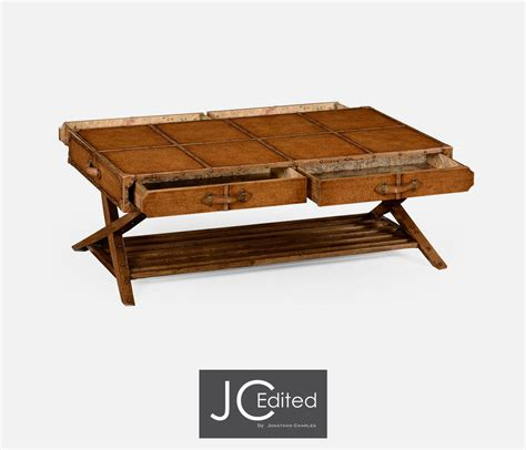 Trunk Style Coffee Table Travel Trunk Style Coffee Table
