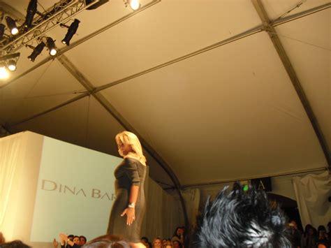 Catwalk To Carpet Beckham In Dina Bar El by What U Missed During Fashion Week La Diedre Johnson S