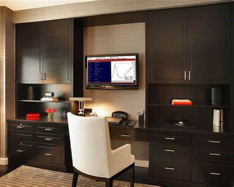 home office with tv tv wall cabinet home design ideas pictures remodel and decor