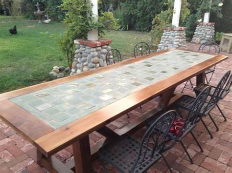 how to a tile table top for outdoors learn how to build a tile top provence outdoor dining