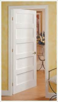 5 Panel Shaker Interior Door Advice Thoughts On Interior Doors Solid Wood Hollow