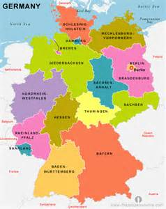 Germany On The Map by Free Germany Map Map Of Germany Free Map Of Germany