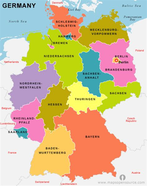 free map of germany free germany map map of germany free map of germany
