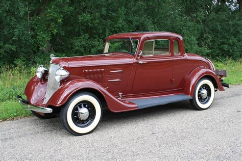 Home Interior Color by 1934 Plymouth 2 Door Coupe 112899