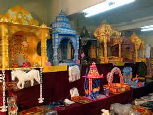 Home Temple Decoration Thermocol Home For Ganpati All About Belgaum
