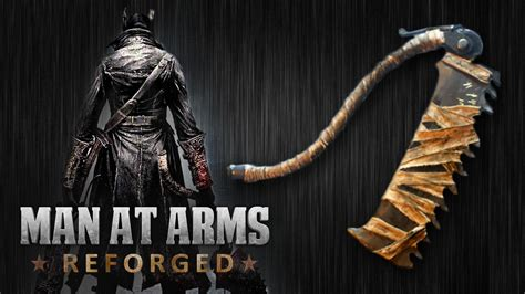 at arms bloodborne saw cleaver at arms reforged