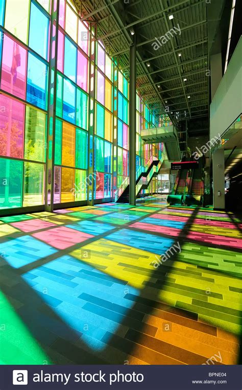 glass color the multi colored glass windows of the montreal convention