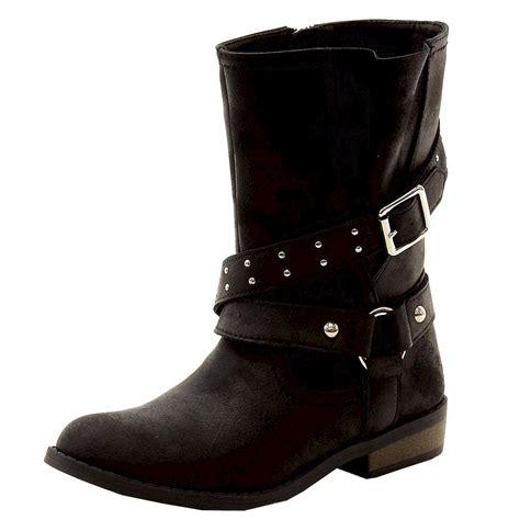jessica simpson girls callie fashion moto boots shoes
