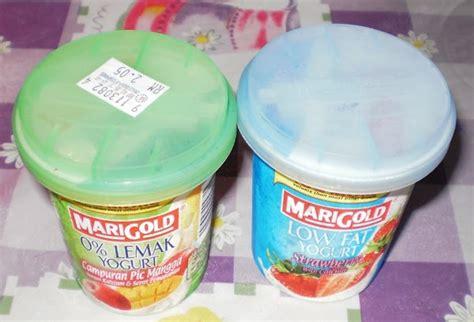 Kismis Marigold diari seorang salad buah buahan