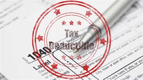 don t miss these home tax deductions
